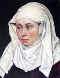 Kopftuch der Frau